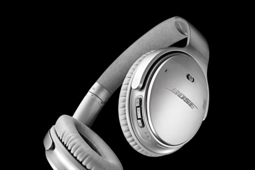 Bose Quiet Comfort QC35 Over-Ear Noise Cancelling Wireless Headphones
