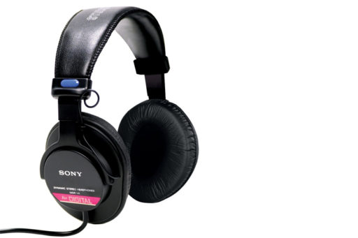 Sony MDR-V6 Over-Ear Studio Monitor Headphones