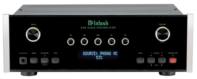 McIntosh C48 stereo preamplifier for sale - Stereo Barn