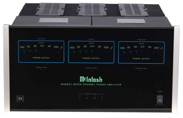 McIntosh MC8207 Surround Sound Amplifier - Stereo Barn