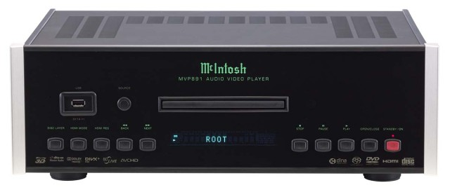 McIntosh MVP891 Universal Media Player front view - Stereo Barn