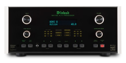 McIntosh MX160 A/V Processor, 4K Ultra HD - for sale at Stereo Barn