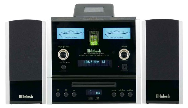 McIntosh MXA60 stereo system front view - Stereo Barn