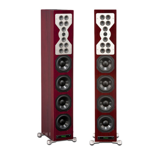 McIntosh XR100 speakers, front view - Stereo Barn