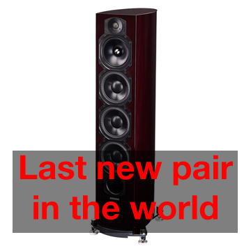 Stereo Barn has the last pair of new Paradigm Tribute 30th Anniversary speakers for sale.