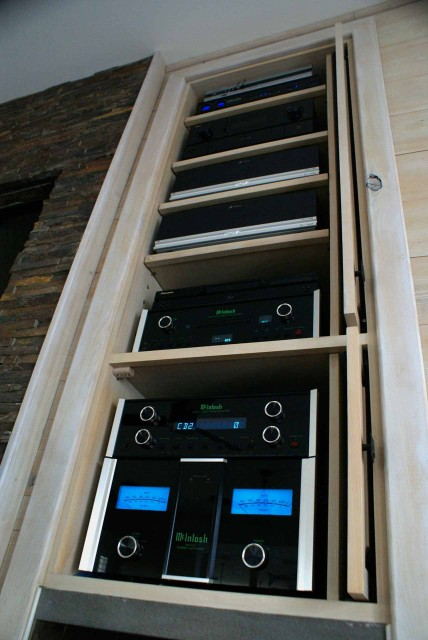 Stereo Barn installs McIntosh products for home theater and stereo systems